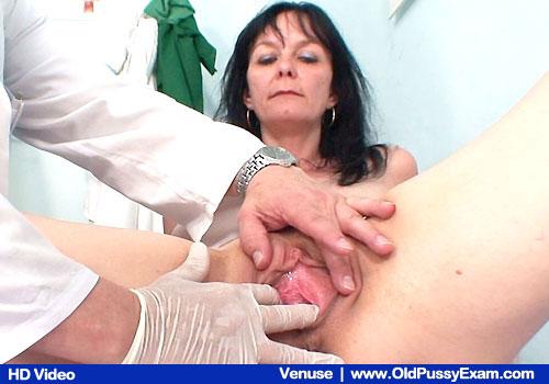 Aged Pussy Exam at OldPussyExam.com