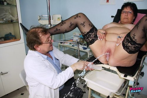 Brunette Busty BBW Tatana Squirts and Fucks with Black Dildo