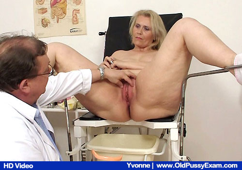 Take a look mind-blowing Yvonne getting examined